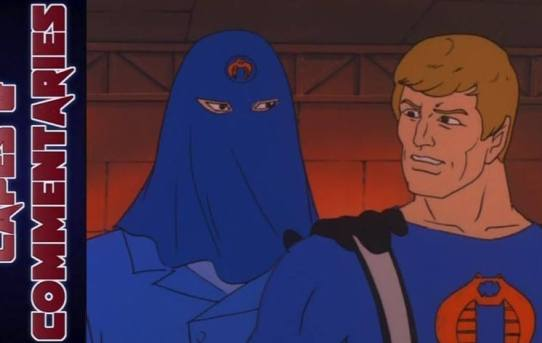 "Capes and Commentaries #27 - G.I. Joe ""The Traitor Part 1 & 2″"