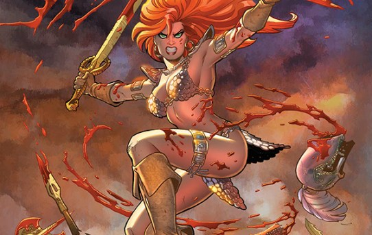 Dynamite Taps Russell and Colak to Reawaken 'Red Sonja'!