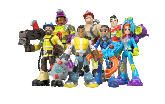 Fisher-Price® Re-launches Rescue Heroes® Brand For Today's Kids and Families