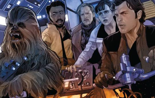 STAR WARS SOLO ADAPTATION #5 (OF 7) Preview