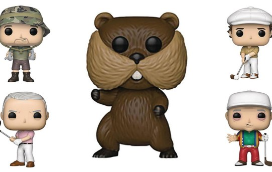 Incoming Cannonball! Caddyshack Funko Pop! Figures are here!