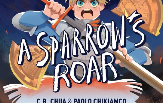 Your First Look at A SPARROW'S ROAR Original Graphic Novel!