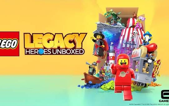 """Gameloft and the LEGO Group Unveil """"LEGO® Legacy: Heroes Unboxed"""""""