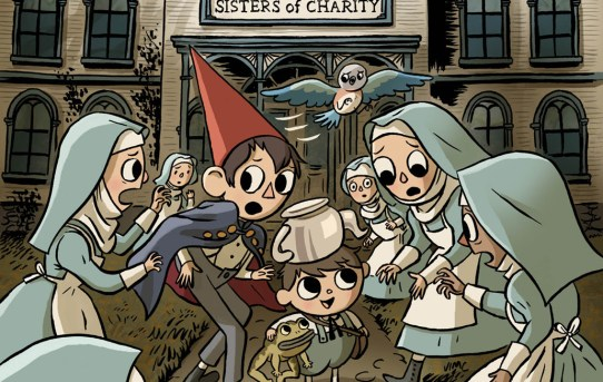 BOOM! Studios Announces New Graphic Novel OVER THE GARDEN WALL: THE BENEVOLENT SISTERS OF CHARITY