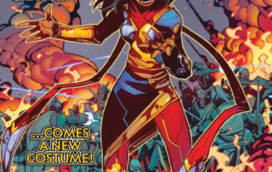 MAGNIFICENT MS MARVEL #5 Preview