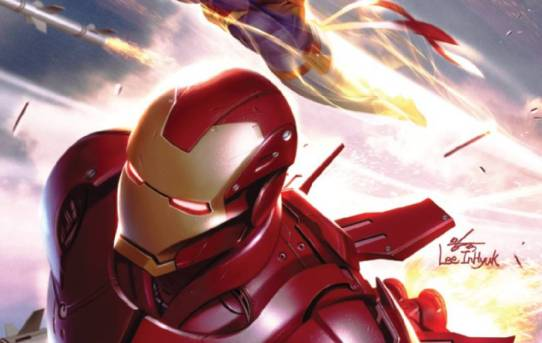 TONY STARK IRON MAN #14 Preview