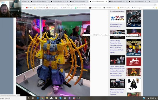 New Transformers SDCC Info