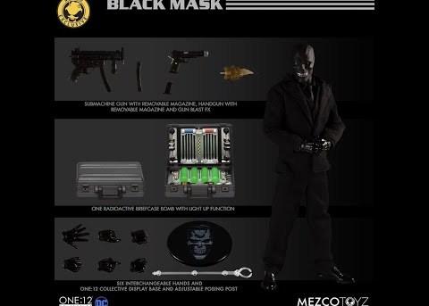 Mezco Toyz ONE:12 COLLECTIVE Batman: Sovereign Knight vs Black Mask - Deluxe Box Set