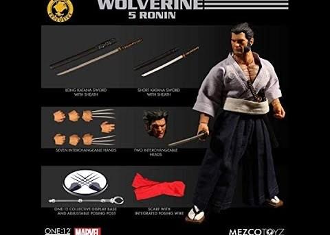 Mezco Toyz ONE:12 COLLECTIVE Wolverine 5 Ronin