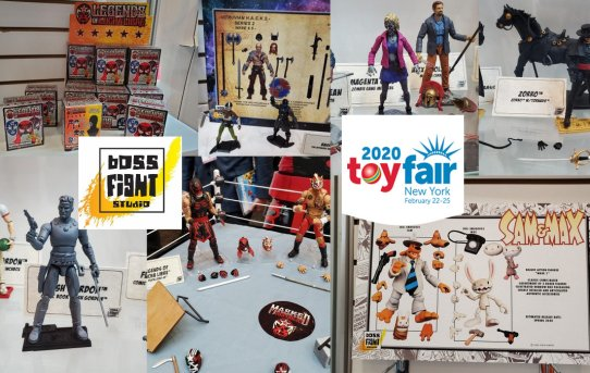Toy Fair 2020 Boss Fight Studio Gallery