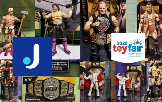 Toy Fair 2020 Jazwares AEW Gallery