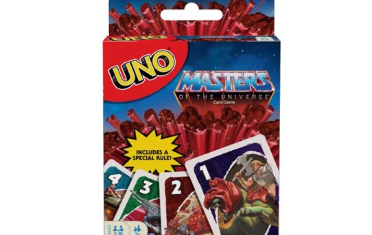 Mattel Announces Masters of the Universe Origins UNO Card Game