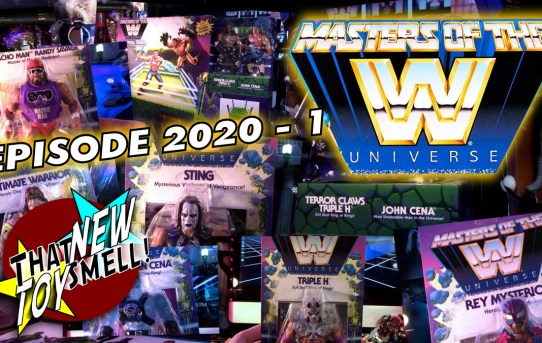 That New Toy Smell 2020 - 1: Masters of the WWE Universe
