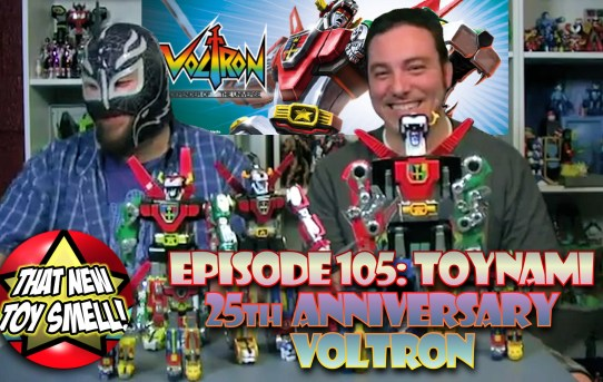 That New Toy Smell Flashback - Episode 105 featuring Matchbox & Toynami Voltron