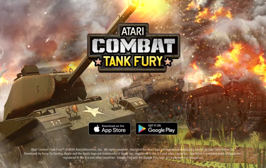 ATARI COMBAT *Tank Fury* Now Available for iOS and Android!