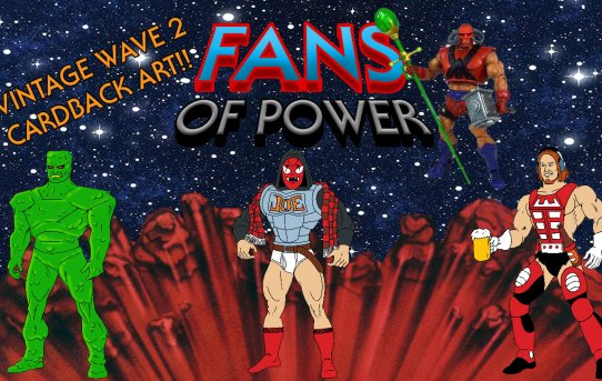 Fans of Power #247 - Character Spotlight: Goat Man & Ranking Vintage Wave 2 Cardback Art!