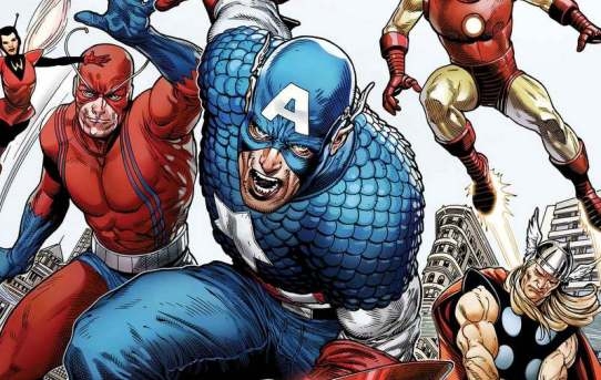 MARVEL CELEBRATES 80 YEARS CAPTAIN AMERICA WITH A GIANT-SIZED TRIBUTE ISSUE!