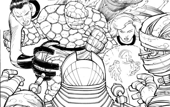JOHN ROMITA JR. JOINS FANTASTIC FOUR FOR A GIANT-SIZED 60TH ANNIVERSARY ISSUE!