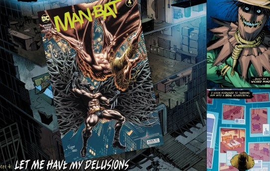 Man-Bat #4 (2021) Review