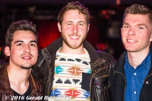 Nick Samson, Stew Weinland and Andrew Gutierrez