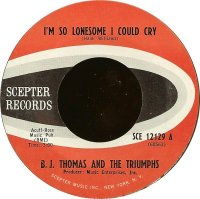 """B.J. Thomas, """"I'm So Lonesome I Could Cry"""""""
