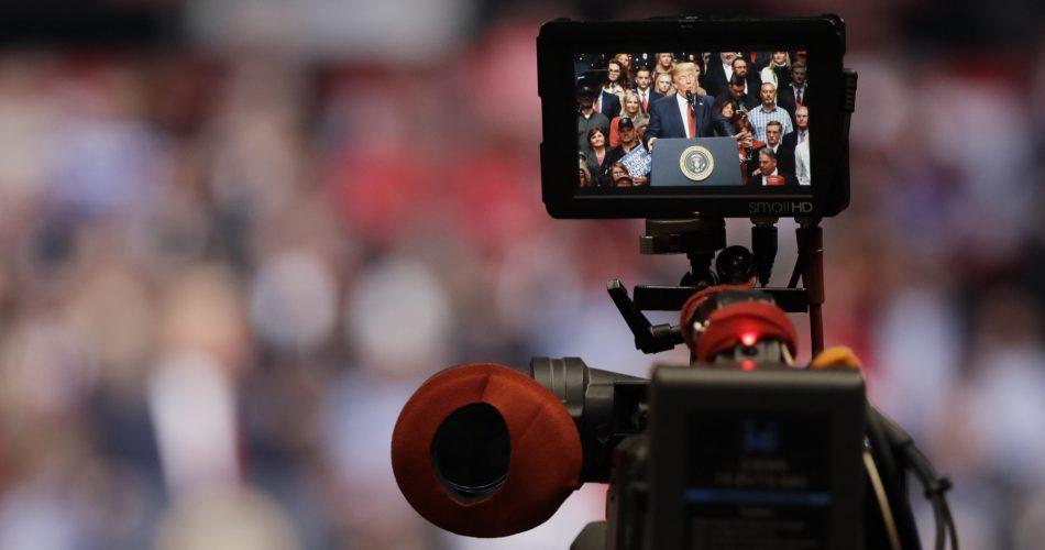 President Trump on camera