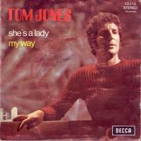 """Tom Jones, """"She's a Lady"""""""