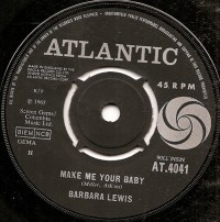 "Barbara Lewis, ""Make Me Your Baby"""