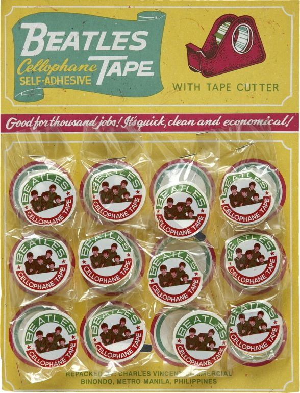 Beatles Cellophane Tape