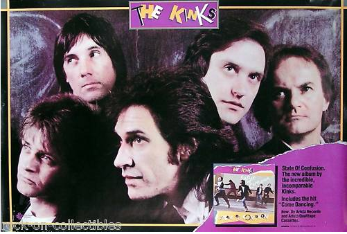 Father Christmas The Kinks.Popdose Flashback 1983 The Kinks State Of Confusion