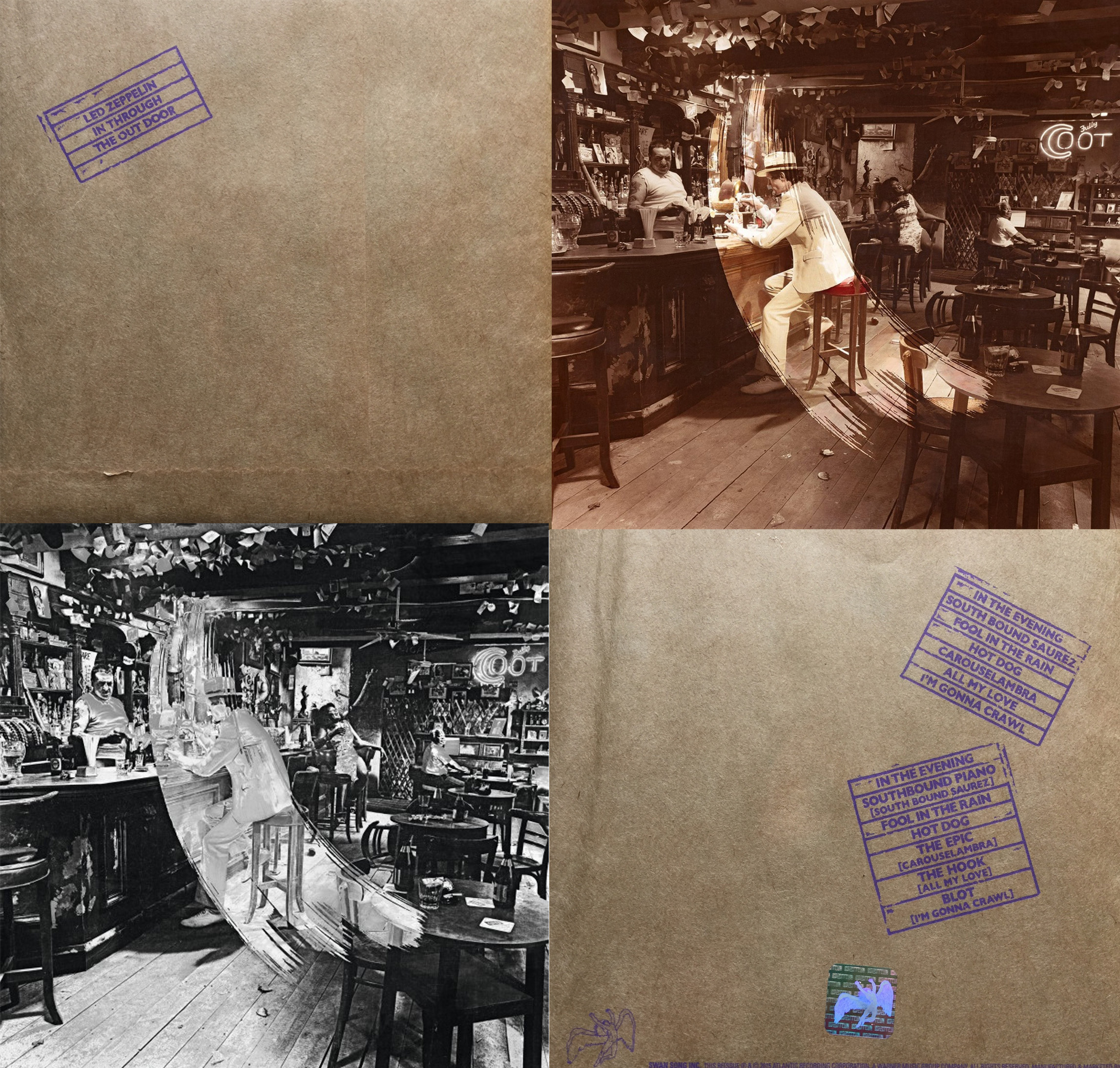 Album Review Led Zeppelin Quot In Through The Out Door