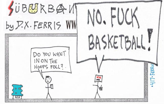 D.X. Ferris, Suburban Metal Dad, the suck, webcomic