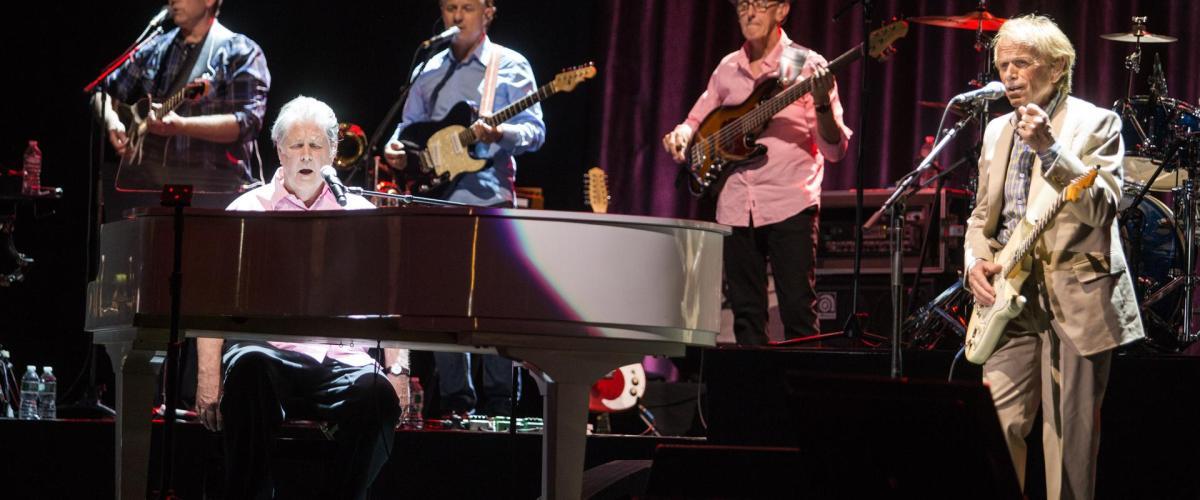 Brian Wilson live in Boston