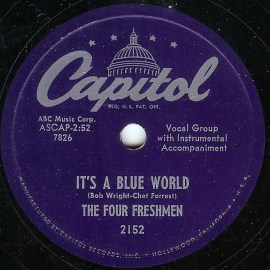 "The Four Freshmen, ""It's a Blue World"""