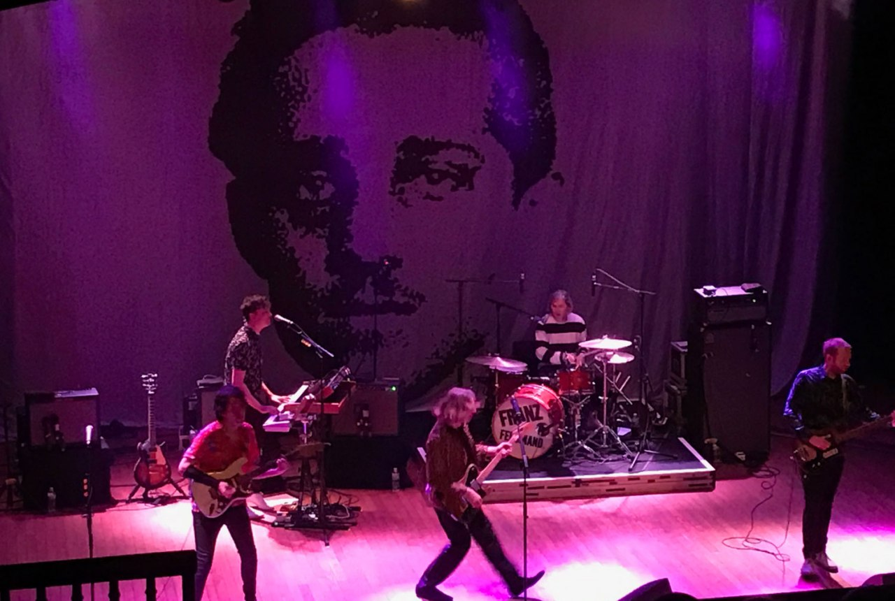 concert review: franz ferdinand, house of blues, cleveland, oh