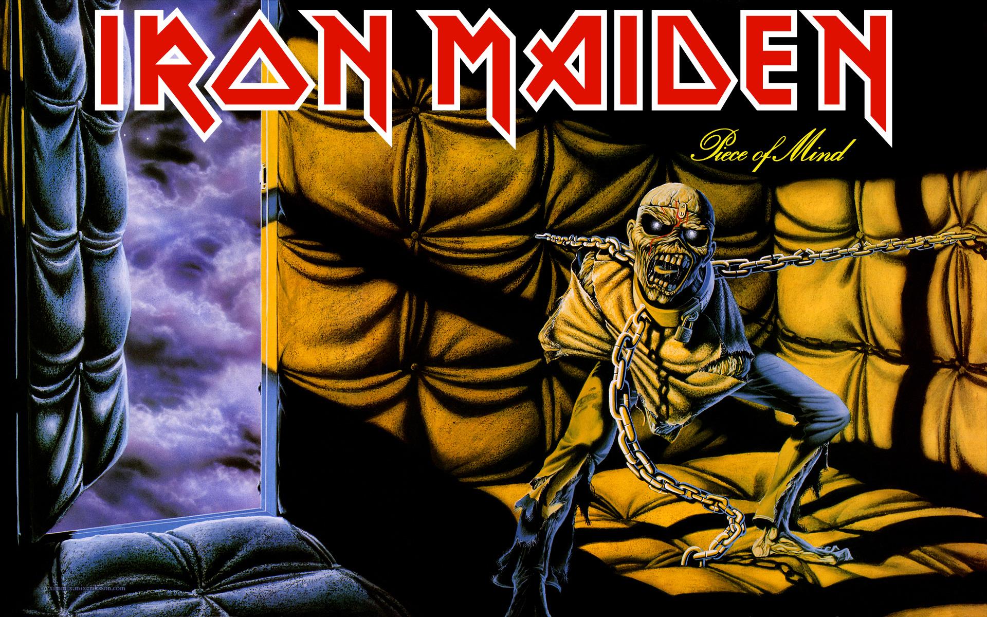 Popdose Flashback 1983 Iron Maiden Piece Of Mind