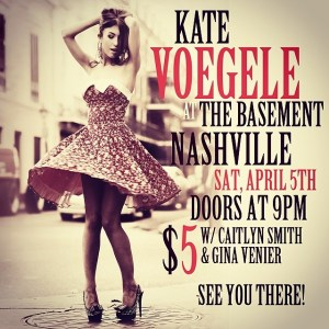 Kate Voegele Nashville Poster