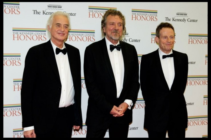 Led Zeppelin Kenney Center Honors