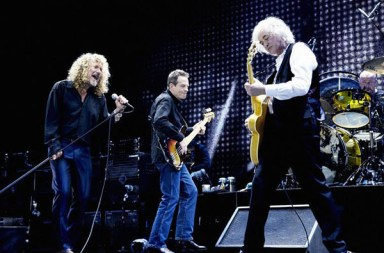 Led Zeppelin O2 Arena reunion