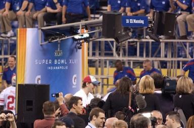 Eli Manning at Media Day