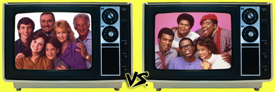 '80s Sitcom March Madness - Mr. Belvedere vs. What's Happening Now!!