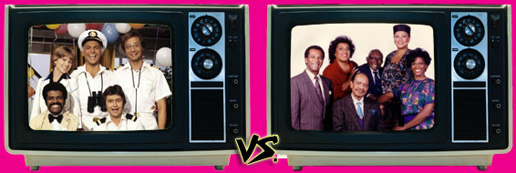 '80s Sitcom March Madness - The Love Boat vs. Amen