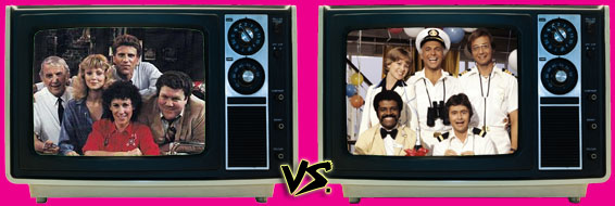 '80s Sitcom March Madness - (1) Cheers vs. (8) The Love Boat