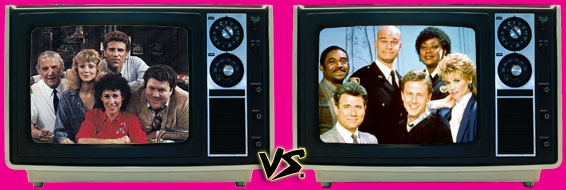 '80s Sitcom March Madness - (1) Cheers vs. (4) Night Court