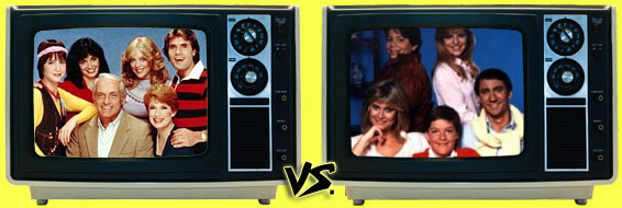 '80s Sitcom March Madness -  Too Close for Comfort vs. It's Your Move