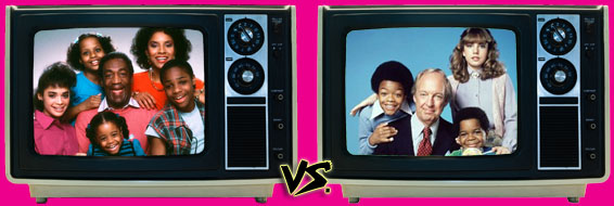 '80s Sitcom March Madness - (1) The Cosby Show vs. (9) Diff'rent Strokes