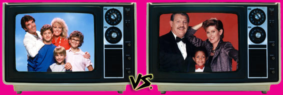 '80s Sitcom March Madness - Growing Pains vs. Webster