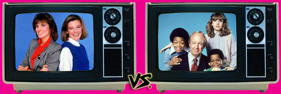 '80s Sitcom March Madness - Kate & Allie vs. Diff'rent Strokes