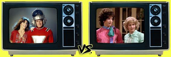 '80s Sitcom March Madness - (2) Mork & Mindy vs. (3) Bosom Buddies