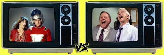 '80s Sitcom March Madness - (2) Mork & Mindy vs. (4) Police Squad!